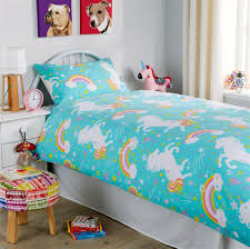 unicorn duvet cover set with pillowcases
