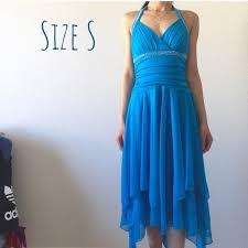Rhinestone Halter Formal Dress Nwt
