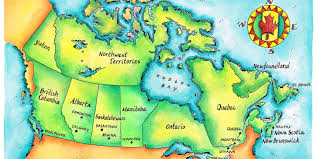 mapping canada by population instead of land area  huffpost