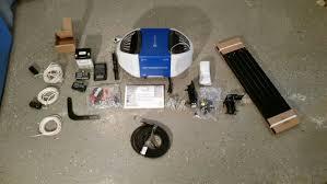 chamberlain whisper drive garage door openerChamberlain 114 HP MyQ WiFi Garage Door Opener Review  One