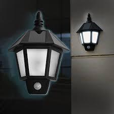 Wall Lamp AGPtEK Infrared Motion Sensor Light Solar Powerd LED Solar Garage Lighting