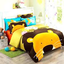 cheetah print crib bedding set lion king bed sets orange brown blue and yellow cartoon lion cheetah print crib bedding