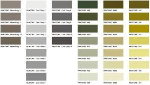 Pantone Color Chart Executive Apparel Pantone Color