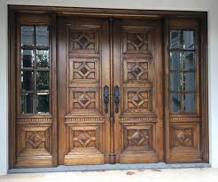 solid timber entrance doors external