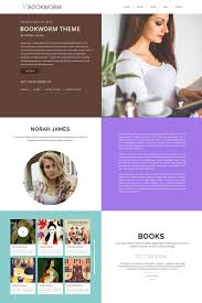 Book Author Website Design Website Design 65748 Author Publisher Blog Custom Website