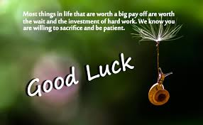 Luck Quotes Custom Good Luck Messages Wishes And Quotes WishesMsg