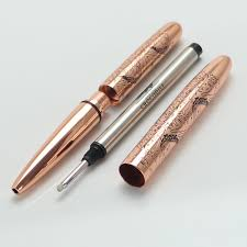 neat office supplies. Mini Crocodile 9cm Ballpoint Pen Rose Gold And Leather Pouch Neat Convience Office Supplies Unique Metal Gift Pens-in Pens From \u0026 School O