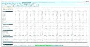 Budget Forecast Template Excel Sales Format Free