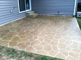 stained concrete patio. Concrete Kingdom Stenciled And Stained Patio Sure Seal Oh By  Decorative Clarksville In Stained Concrete Patio