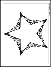 You can then cut out, tape on chairs, walls, windows, doors, tables, or tie and hang around the. 60 Star Coloring Pages Customize And Print Ad Free Pdf