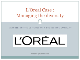 Loreal Organization Chart Loreal Case Study Managing The Diversity Describing