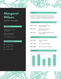 Graphic Design Resume Inspiration Customize 28 Graphic Design Resume Templates Online Canva