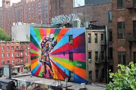 graffiti in chelsea new york high line park on most famous wall artist with global graffiti 8 powerful street artists mnn mother nature network