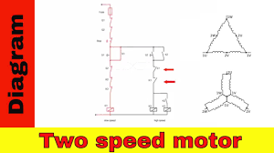 wiring diagram for two speed motor 3ph 2 speed motor youtube 2 Speed AC Motor Wiring wiring diagram for two speed motor 3ph 2 speed motor