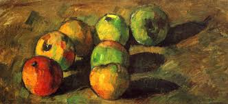 paul cezanne still life with seven apples