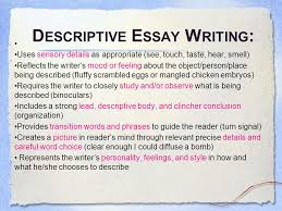 descriptive essay about a place descriptive essays about a place the student essays essay place lele tquoted elements of essay in