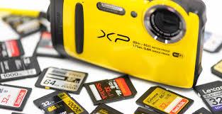 Fujifilm Xp120 Xp130 Memory Card Recommendations