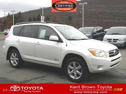 2008 Blizzard Pearl White Toyota RAV4 Limited 4WD #57540323 ...