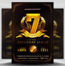 anniversary poster template business flyer templates for corporate events and promotions
