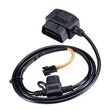 12V <b>16 Pin OBD OBD2 OBDII</b> Power Adapter Extension Connector ...