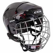 Ccm Fitlite 50 Hockey Helmet Combo Black