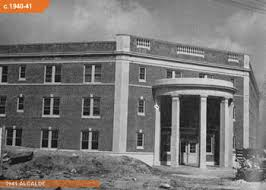 The Building Of Sam Houston State University