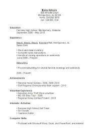 Sample Resume High School Graduate Enchanting Sample Resume For High School Student Resume Template Examples For