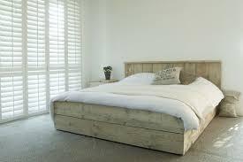 2 Persoonsbed Hout Beliani Leren Bed 180x200 Cm 2 Persoonsbed Incl