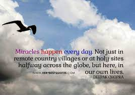 Miracles-happen-every-day.jpg 604×424 pixels | Good morning quotes, Its  friday quotes, Happy friday quotes