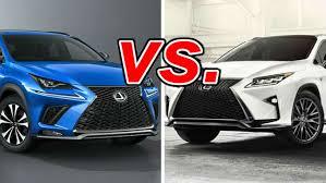 Lexus Suv Size Chart Lexus Nx Vs Lexus Rx Carsdirect