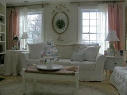 country bedroom furniture cottage cozy country living room with pink and white curtains dining