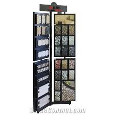page mosaic stone display stands ceramic tile display racks