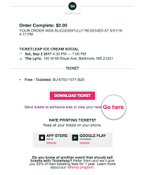 A Receipt How Do I Get A Receipt For My Ticket Purchase Ticketleap