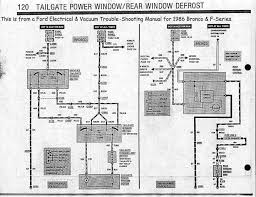 1992 ford bronco radio wiring diagram the best wiring diagram 2017 bronco repair manual download at 1987 Ford Bronco Wiring Diagram