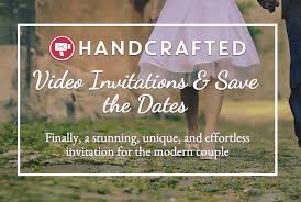 handcrafted video invitations save the dates green wedding Handcrafted Video Wedding Invitations handcrafted video invites Amazing Wedding Invitations