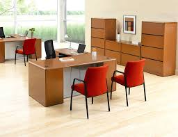 cool home office ideas retro. Office:Cool Retro Home Office Decorating With L Shape Wooden Desk And Orange Cool Ideas E