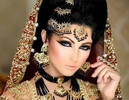 arabian bridal makeup tutorial tips ideas step by step pictures