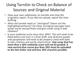 peer review for essay and responding to sources they say i say  using turnitin to check on balance of sources and original material view your own submission on