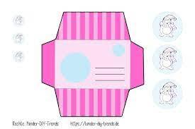 Bastelvorlagen zum ausdrucken kostenlos schablonen zum ausdrucken als pdf basteln vorlagen kostenlos ausdrucken bastelvorlagen für kinder & senioren. Freebie Pinguin Umschlag Do It Yourself Trends Fur Kinder