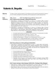 Resume For Bank Customer Service Representative Free Resume