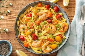 Creamy Shrimp Tagliatelle Recipe ...