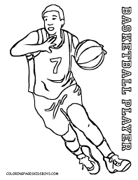 New Of Sports Coloring Pages Basketball Photograph Printable