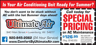 Ultimate Air | Door County Daily News - Shopping Show ...