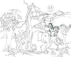 Preschool Animal Coloring Pages Animal Coloring Pages Preschool