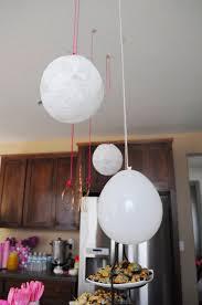 picture of lace balloon papier mache