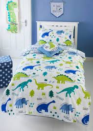 charming dinosaur double bedding kids print single duvet cover green matalan canada uk childrens hiccups twin