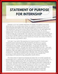 Statement Of Purpose Graduate School Example Best Statement Of Purpose Examples Graduate School