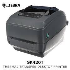 Zebra Gk420t Thermal Transfer Desktop Printer For Labels Receipts Barcodes Tags And Wrist Bands Print Width Of 4 In Usb And Ethernet Port