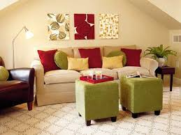 Red And Green Living Rooms Facemasre Com