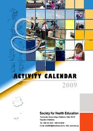 cover pages azou esmael s blog activity calendar 2009 of she cover page